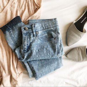 Gap • Patterned Skinny Jeans